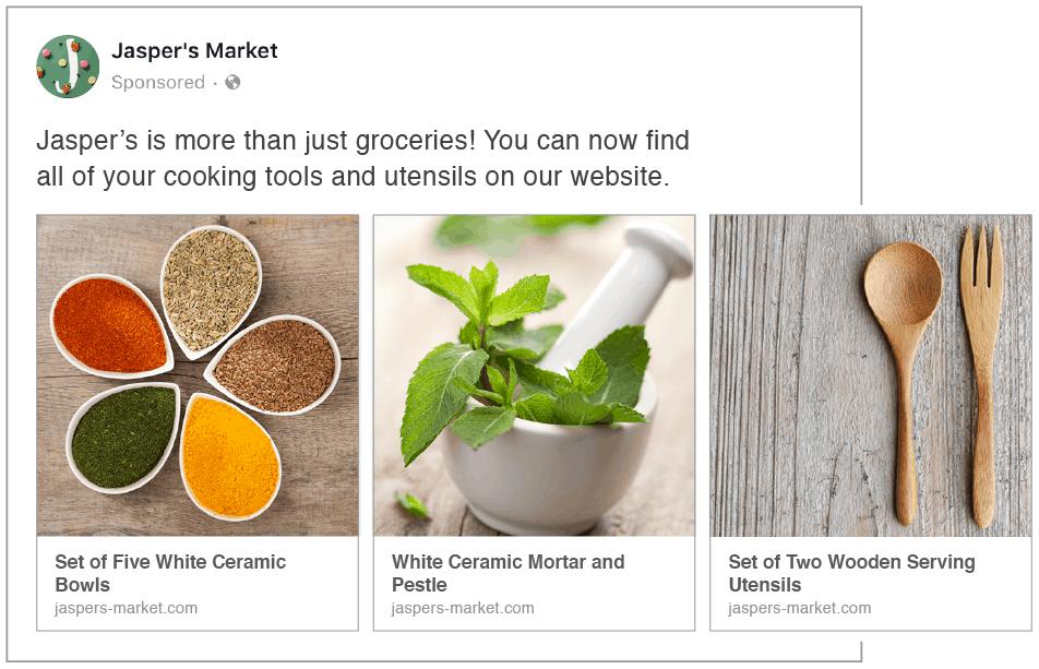 Facebook Dönen Reklamlar