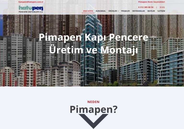 Hatüpen Web Site Tasarımı